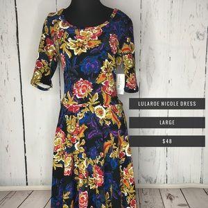 LuLaRoe Nicole Dress NWT (XL)